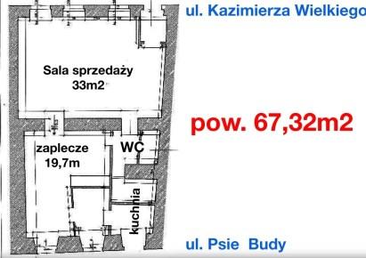 lokal na sprzedaż - Wrocław, Stare Miasto, Rynek, Psie Budy
